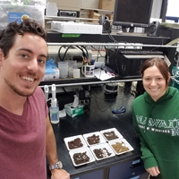 Grad students from Crow Soils Lab.