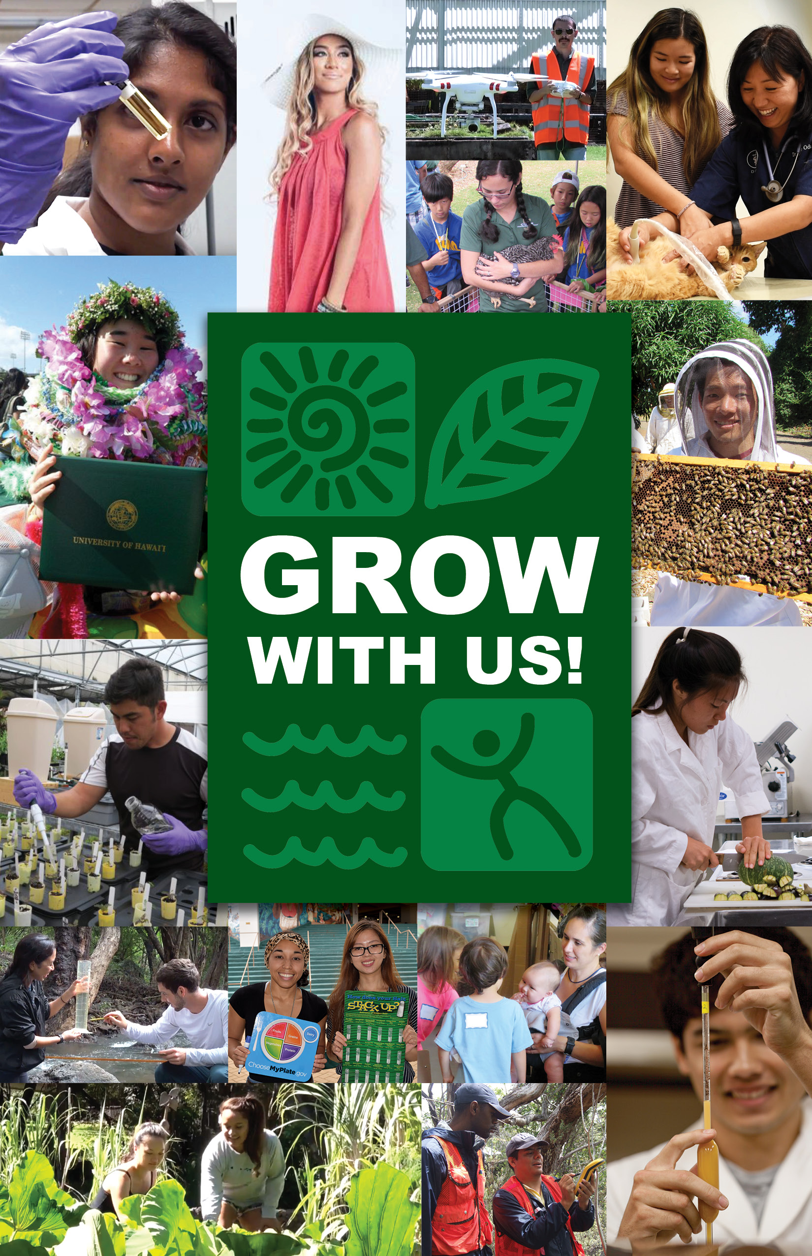 Grow With Us Flyer Front
