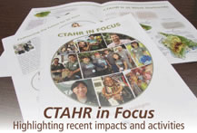 CTAHR IN FOCUS