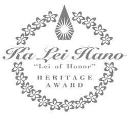 Ka Lei Hano award mark