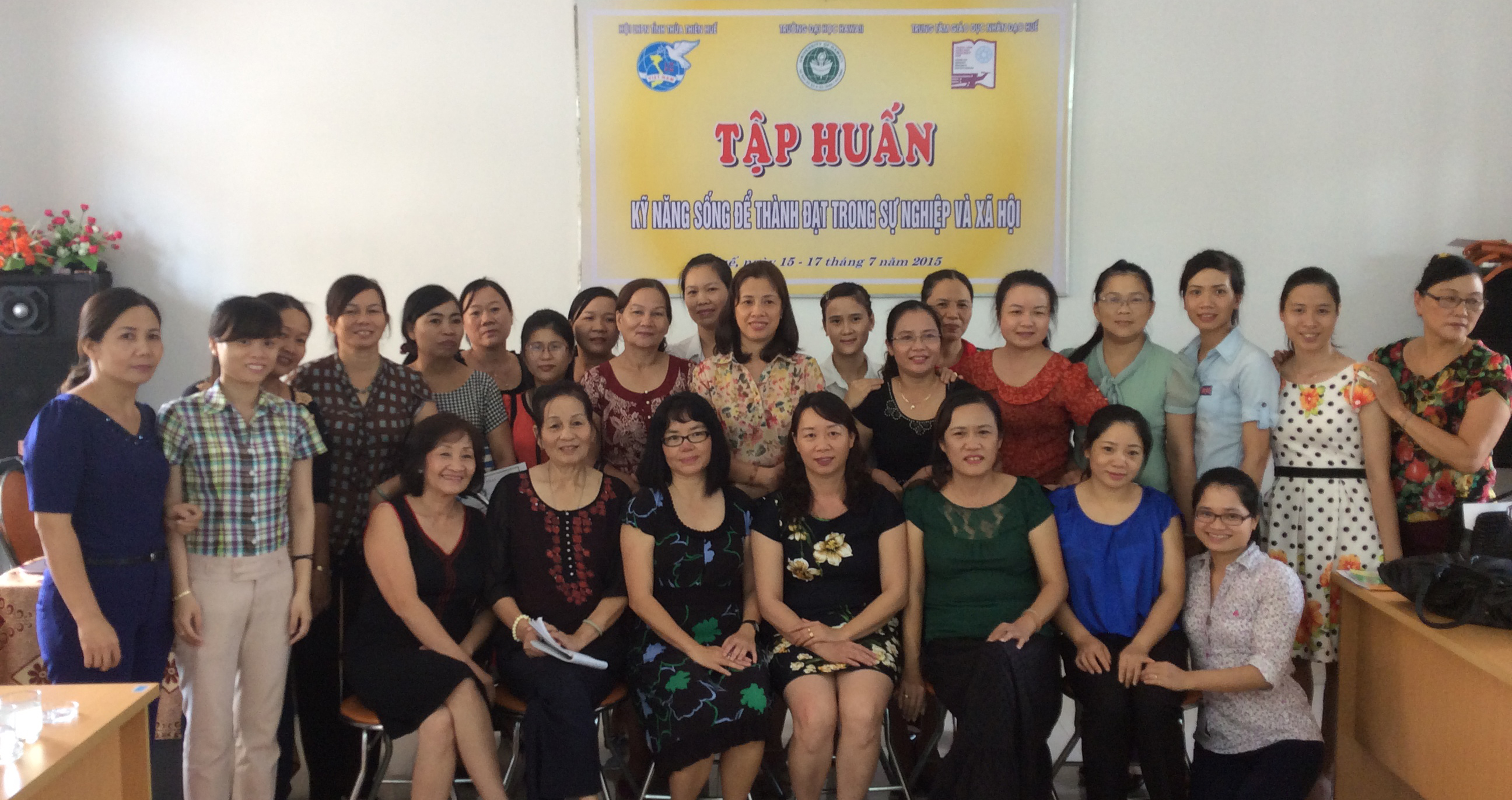 Mindfulness Training with Women Leaders in Hue, Vietnam