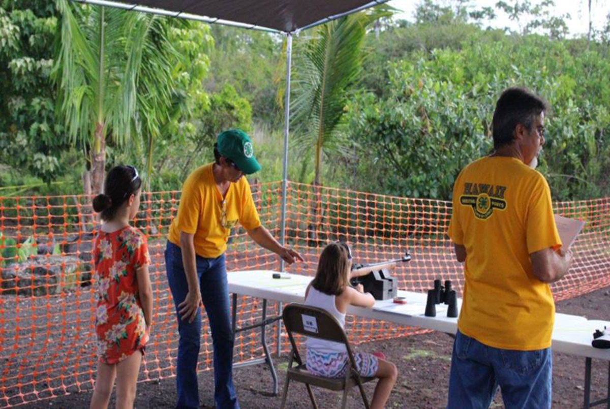 Hawaii Island 4-H Shooting Sports