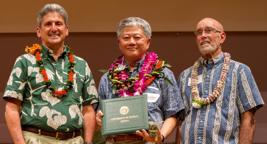 2017 Mānoa Chancellor's Citation for Meritorious Teaching Award