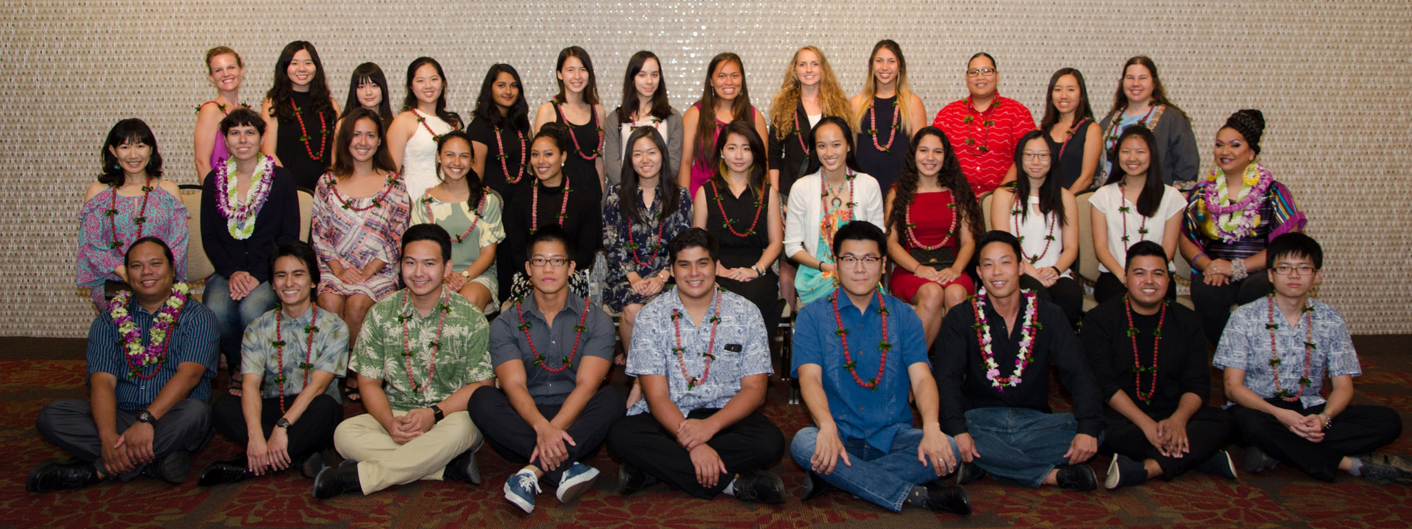 2017 Scholarship Recipients at CTAHR's Annual Awards Banquet