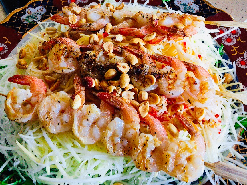 Photo of Green Papaya Salad with Shrimp