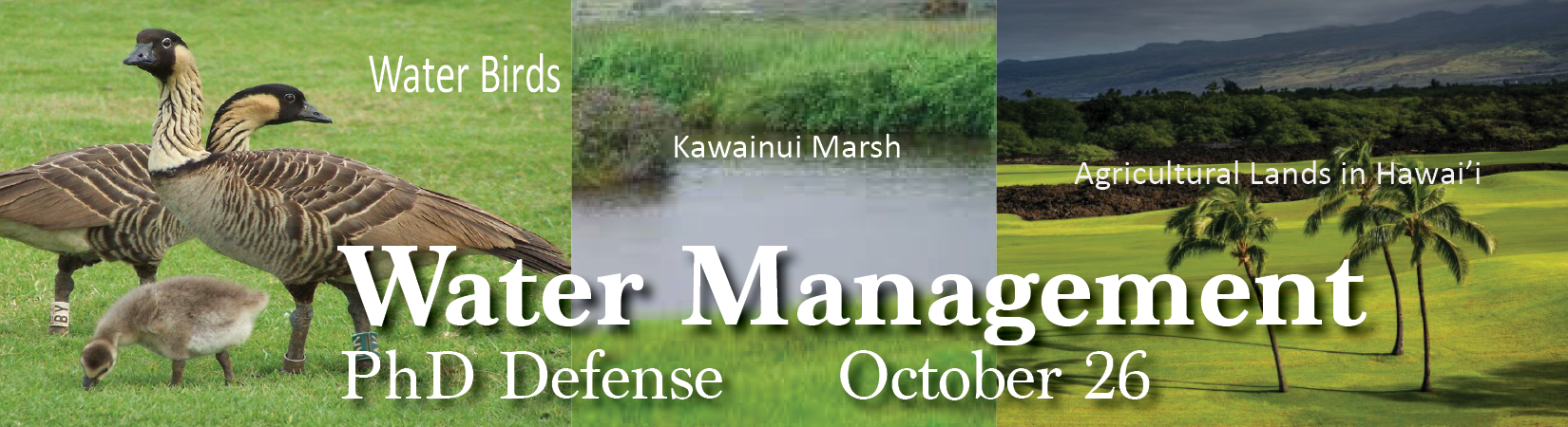 Water managment, Oct 26