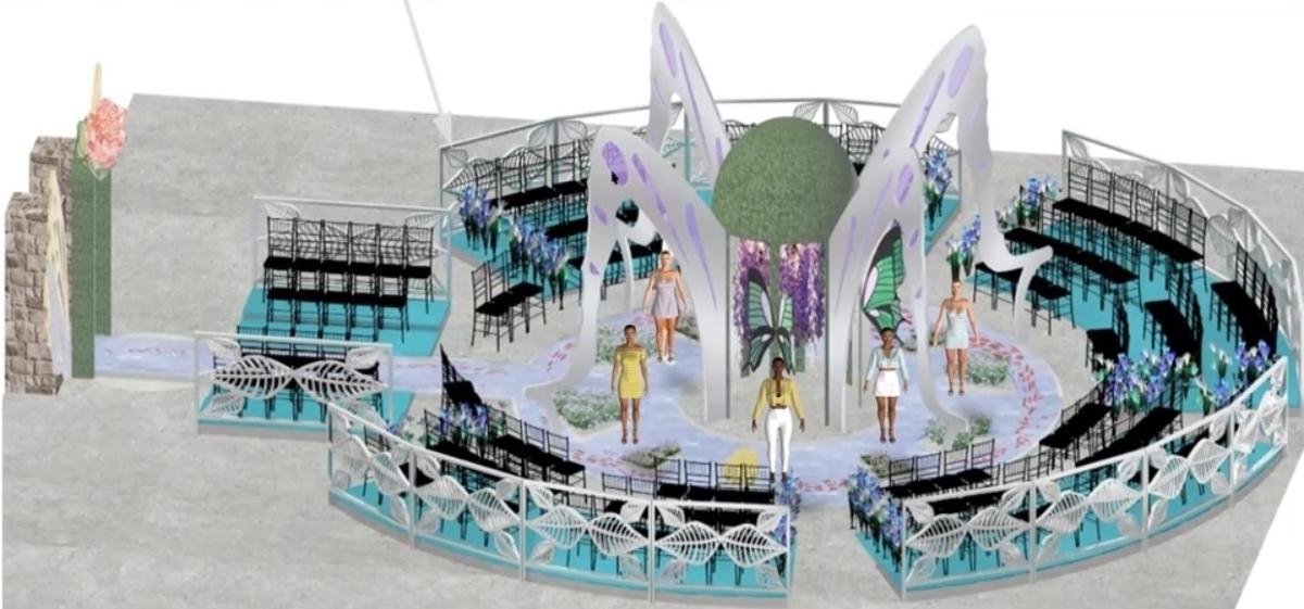 3D Fashion and Scenic Design Collaboration   FDM 338 + THEA 652/653   3D Fashion Runway Design Project (2021)